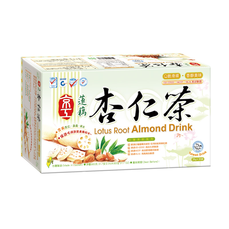 蓮藕杏仁茶(30入) Lotus Root Almond Drink