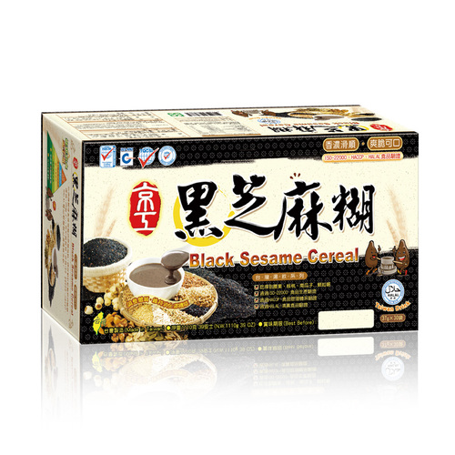 黑芝麻糊(30入) Black Sesame Cereal