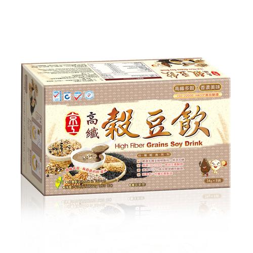 高纖穀豆飲8入-新品上市