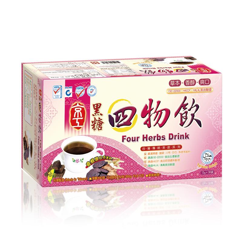 黑糖四物飲(30入) Four Herbs Drink